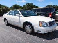 White 2005 Cadillac DeVille FWD 4-Speed Automatic with