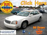 2005 Cadillac Sedan Deville, LOW MILES, PEARL WHITE!!