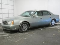 2005 Cadillac DeVille DHS Green Silk, Shale Nuance