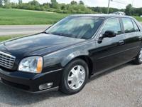 2005 CADILLAC DHS DEVILLE 4dr. V8, Auto, Black/Black