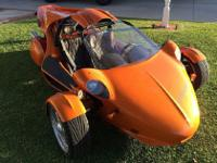 2005 Campagna T-Rex Custom Orange Paint VERY RAREFor a