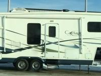 This is a Beautiful 2005 Carriage Cameo LXI 5th Wheel