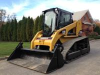 CAT 277B Track Skid Steer Loader Low Hours Hr meter