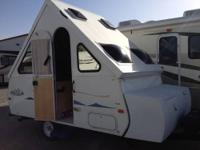 Like new. 2005 CHALET RV Aspen A steel-framed sofa at