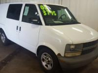 * Clean Vehicle History Report, 3D Cargo Van, Vortec