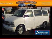 Options Included: RWD, 8-Passenger Seating, ABS