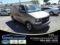Options:  2005 Chevrolet Astro Cargo Base 3Dr Extended