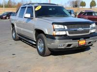 This 2005 Chevrolet Avalanche 1500 Z71 in Silver Birch