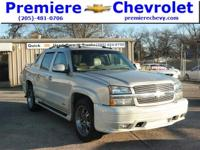 Options:  2005 Chevrolet Avalanche Ls|White/|V8 5.3L