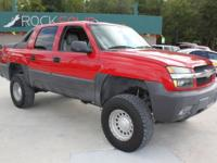 Options Included: N/AThis 2005 Chevrolet Avalanche crew