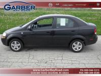 Options Included: N/A2005 Chevrolet Aveo with a 1.6L