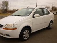 Options Included: N/A2005 Chevrolet Aveo LS Sedan