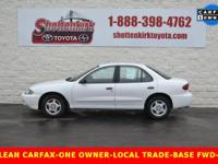 Options:  2005 Chevrolet Cavalier Base|Clean Carfax|One