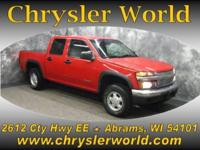 Options Included: Four Wheel Drive, Aluminum Wheels,