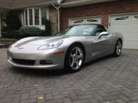 2005 Corvette C6  Machine Silver Exterior w/ Steel Gray
