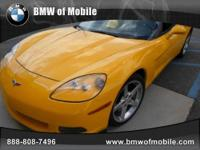 BMW of Mobile presents this 2005 CHEVROLET CORVETTE 2DR