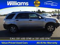 Options:  2005 Chevrolet Equinox Ls|Silver|Mechanic
