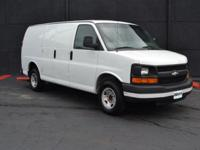 This 2005 Chevrolet Express 2500 Cargo features a 4.8L