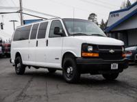 Clean Carfax Extended Sport Van with 4th Row Seats!