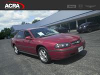 Used Chevrolet Impala, options include:  Alloy Wheels,