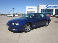 Options Included: ABS Anti-Lock Brakes, On*Star System,