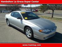 (316) 416-7048 ext.79 Our 2005 Monte Carlo LS sports a