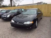 Options:  2005 Chevrolet Monte Carlo Lt 2Dr