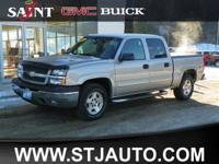 This 2005 Silver Birch Metallic Chevrolet Silverado