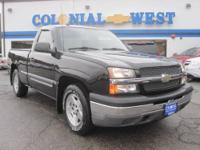 2005 Chevrolet Silverado 1500 4x2 Regular Cab 6.5 ft.