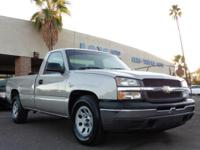 Options:  2005 Chevrolet Silverado 1500 Reg Cab Work