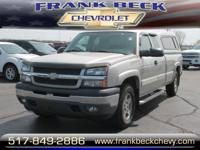 Options:  2005 Chevrolet Silverado 1500 Work Truck|4Dr