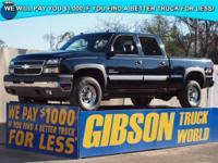 WWW.GIBSONTRUCKWORLD.COM 2005 Chevy Silverado 2500 LT