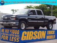WWW.GIBSONTRUCKWORLD.COM 2005 Chevy Silverado 2500 LT3