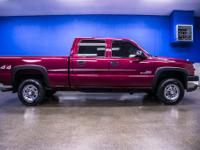 2 Owner Clean Carfax Chevy Duramax Diesel Truck with