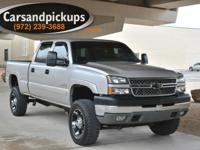 Carfax Certified 2005 Chevrolet 2500HD Crew Cab 4x4