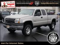 Options:  2005 Chevrolet Silverado 2500Hd Ext Cab 143.5