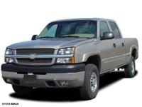 Options:  2005 Chevrolet Silverado 2500Hd|Crew Cab