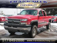 Options:  2005 Chevrolet Silverado 2500Hd|4Dr Extended