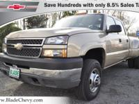 6Speed Manual Transmission!!Silverado 3500 LS DRW, Only
