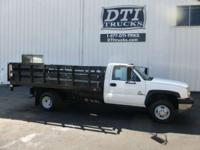 Great Running Well Maintained Diesel Flatbed With Only