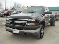 Options Included: N/A2005 Chevy Silverado 3500 Ext cab