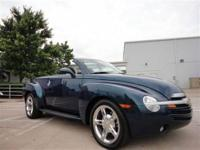 THIS 2005 CHEVROLET SSR CONVERTIBLE WAS JUST TRADED IN.