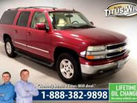 Completely inspected and reconditioned, 2005 Chevrolet