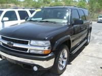 Options Included: N/A2005 Chevrolet Suburban LT