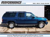 Z71 trim. CARFAX 1-Owner. Third Row Seat Heated Leather