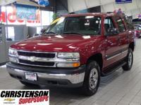 2005+Chevrolet+Tahoe+LS+In+Sport+Red+Metallic+*+CLEAN+V
