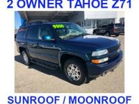 ***Z71 PACKAGE***, keyless entry, ***SUNROOF***, 2nd