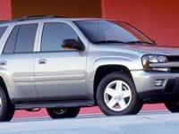 This do-it-all 2005 Chevrolet TrailBlazer LS, with its