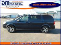 Exterior Color: dark blue metallic, Body: Mini Van,