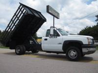 2005 Chevy 3500 12? x 96? Flatbed Dump Truck, Duramax